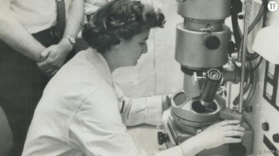 June Almeida, une grande scientifique aujourd'hui célébrée.