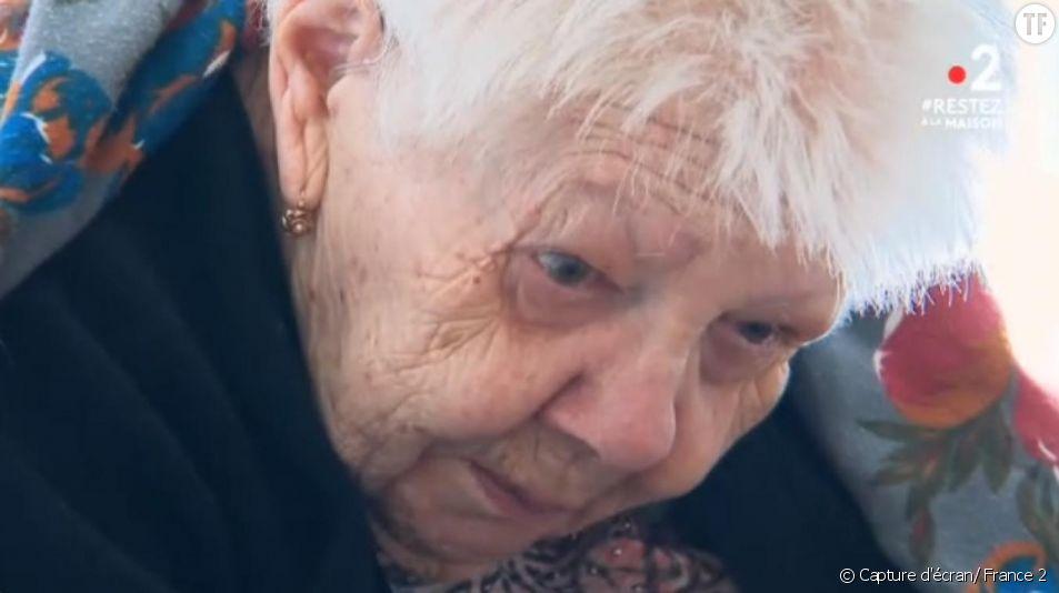 Jeanne, 96 ans, devient le visage bouleversant de la souffrance en Ehpad