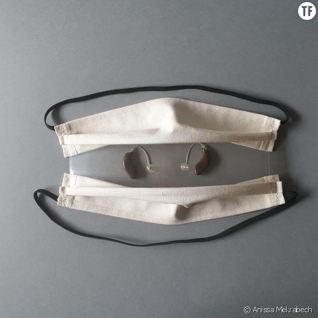Masque de protection inclusif pour personnes sourdes et malendantes