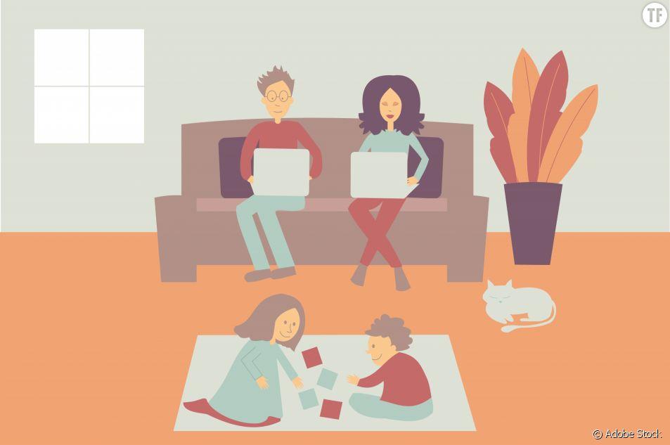 Les parents télétravailleurs sont plus efficaces