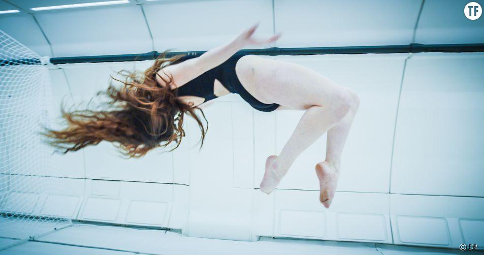 La danseuse de l'extrême Jeanne Morel