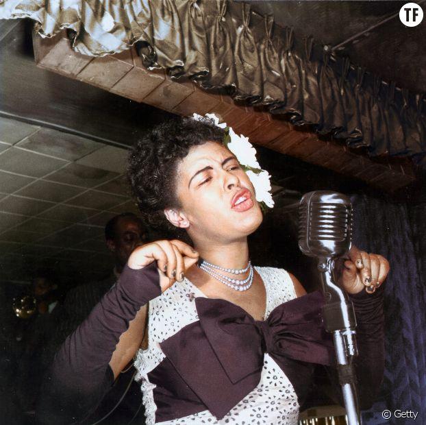 La chanteuse Billie Holiday