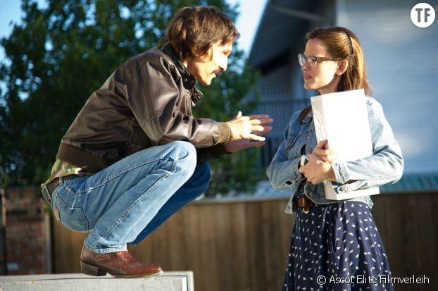 """Jennifer Garner et Matthew McConaughey sur le tournage de """"Dallas Buyers Club"""", de Jean-Marc Vallée."""