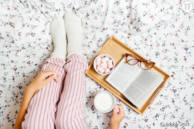 Pyjamas et bien-être.
