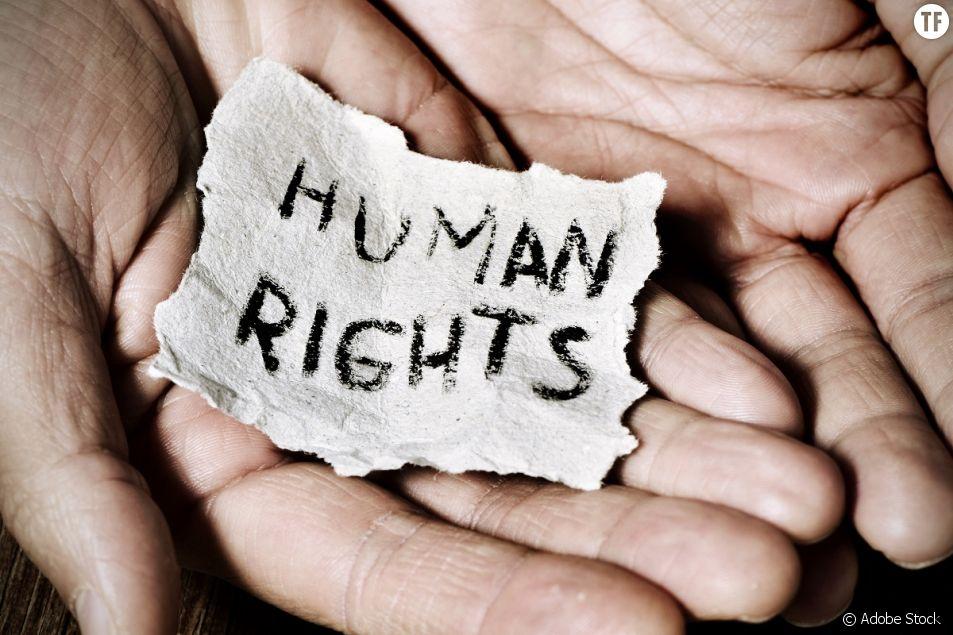 """Un collectif en appelle à changer """"Droits de l'homme"""" pour """"Droits humains""""."""