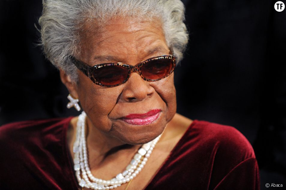 Maya Angelou au AARP Gala à Washington le 9 décembre 2010