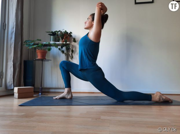 Fente basse en yoga