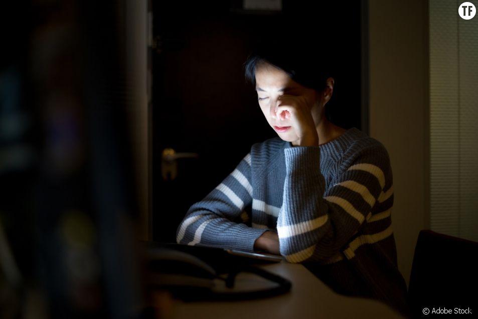 """En Chine, un """"musée de la violence sur Internet"""" pour dénoncer le cyber harcèlement des femmes."""