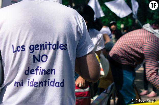 """""""Les parties génitales ne définissent pas mon identité"""". Pride de Buenos Aires."""