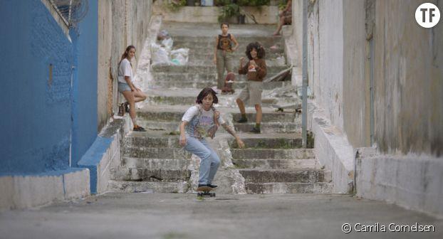 """Les skateuses du film """"Je m'appelle Bagdad"""""""