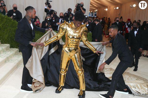 Lil Nas X lors du Met Gala 2021.