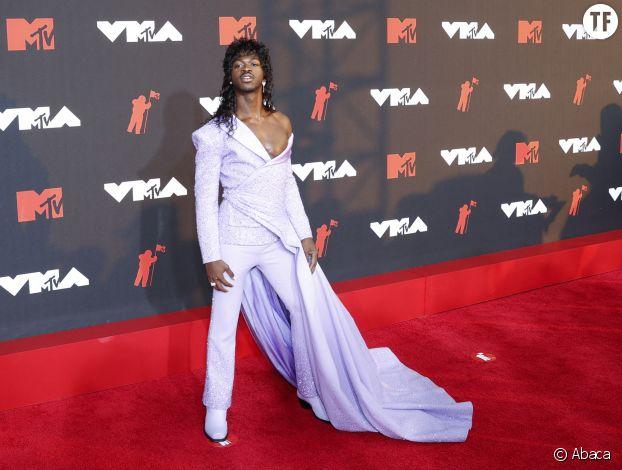 Lil Nas X lors des MTV VMA 2021.