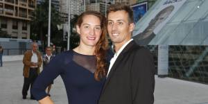 Avec William Forgues, Camille Muffat formait un couple  de sportifs amoureux