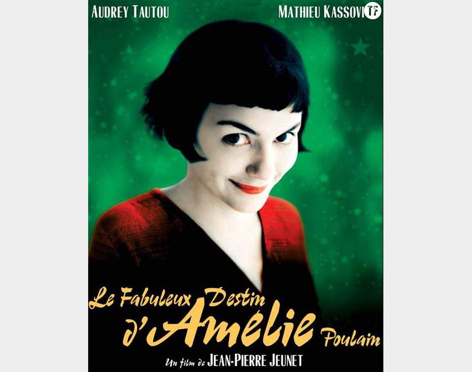 """L'affiche du film """"Le fabuleux destin d'Amélie Poulain"""" avec Audrey Tautou"""