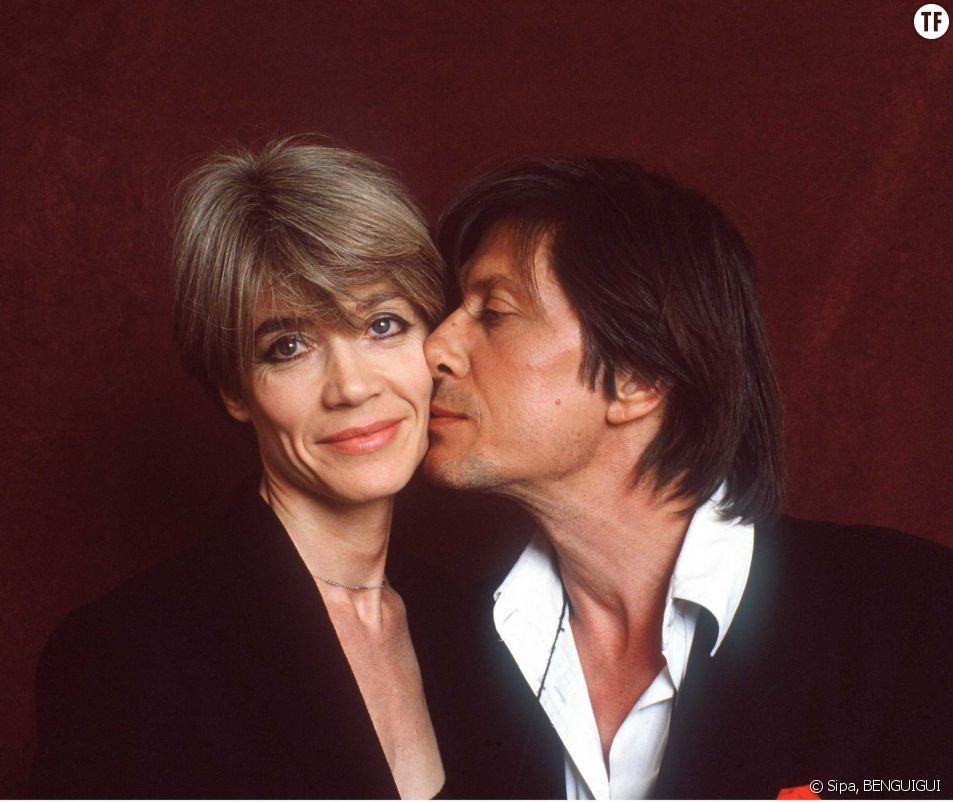 Jacques  Dutronc et Françoise Hardy en 1988