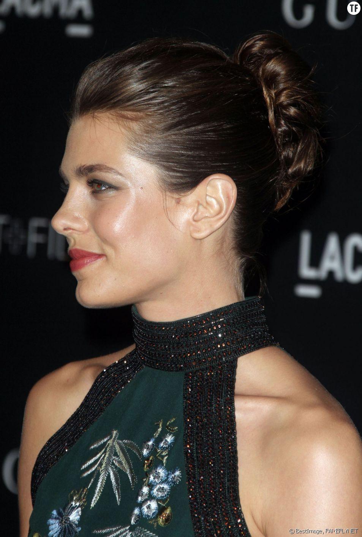 """Charlotte Casiraghi - Soirée """"LACMA Art + Film Gala"""" à Los Angeles le 1er novembre 2014."""