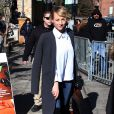 "Karine Vanasse (""Revenge"") dans les rues de Park City lors du Festival du Film Sundance dans l'Utah, le 26 janvier 2015"