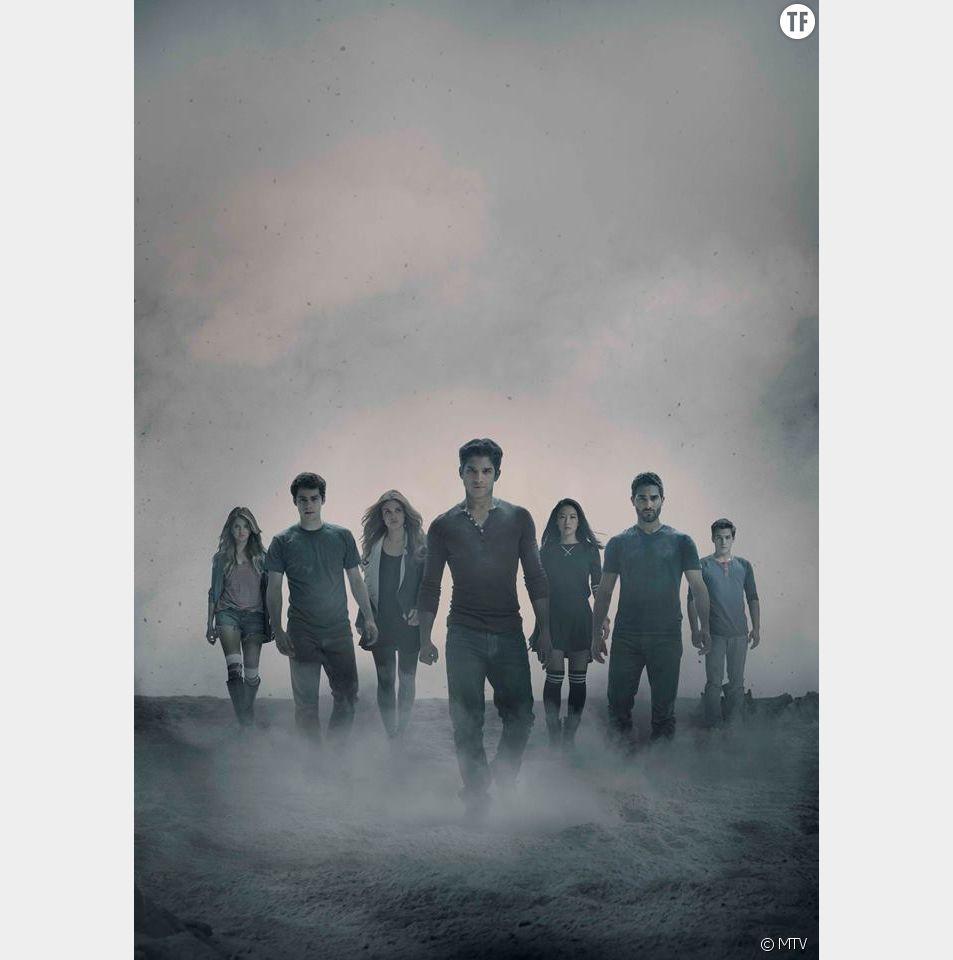 Poster de la saison 4 de Teen Wolf