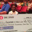 La petite fille a remporté le premier prix au festival de crowdfunding One Spark