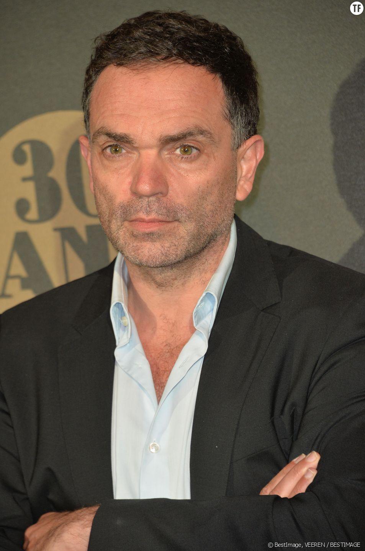 Yann Moix aux 30 ans de Canal Plus.