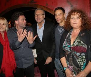 Yann Moix lors de la soirée de lancement du livre de Laurent Ruquier