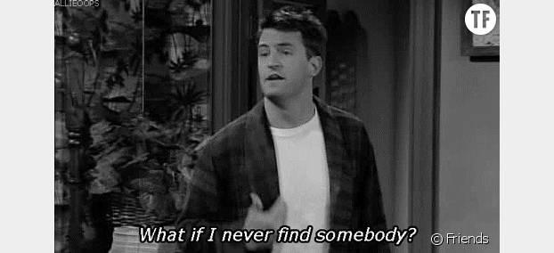 Malgré son défaitisme Chandler a bien fini par trouver l'amour dans Friends !