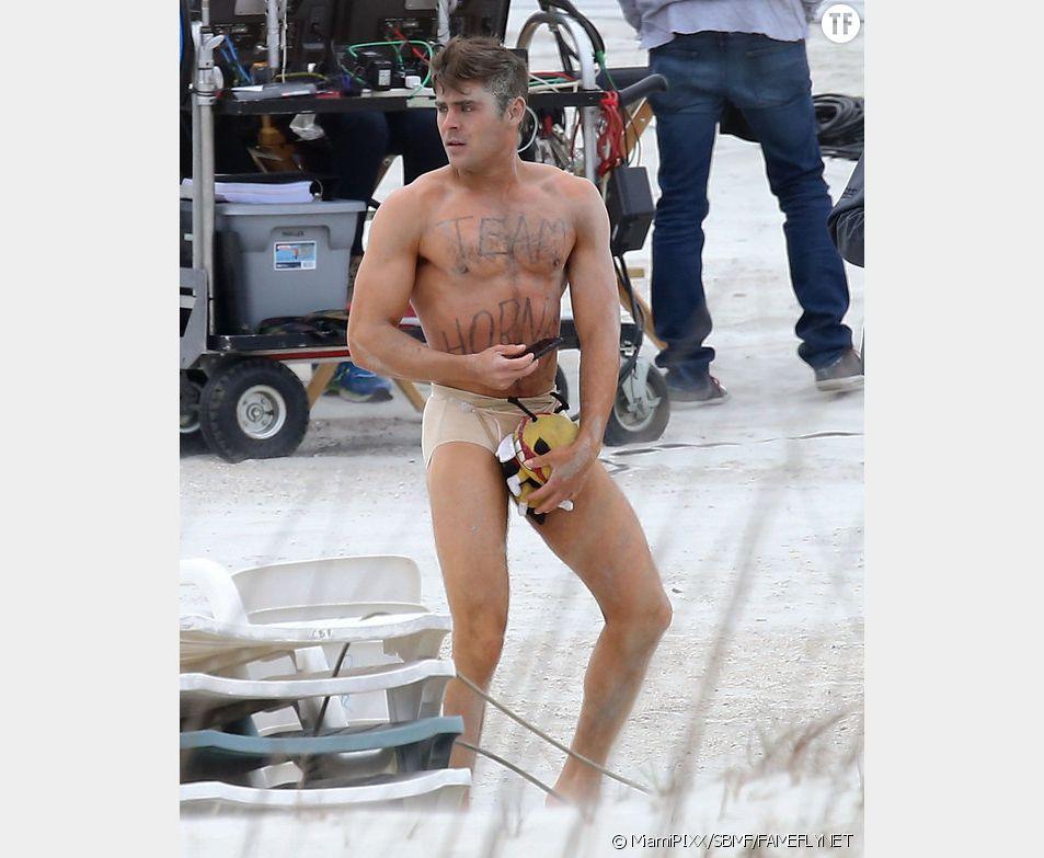 "Zac Efron sur le tournage de ""Dirty GrandPa"""