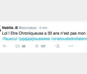 Le Tweet supprimé de Nabilla au sujet d'Enora Malagré