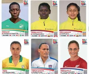 Coupe du monde féminine : les footballeuses ont leur album Panini