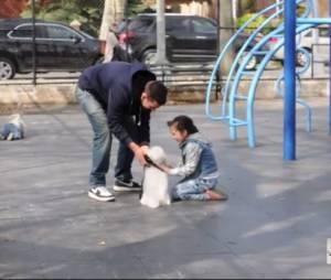 Il est très facile d'enlever un enfant : la preuve avec cette vidéo terrifiante