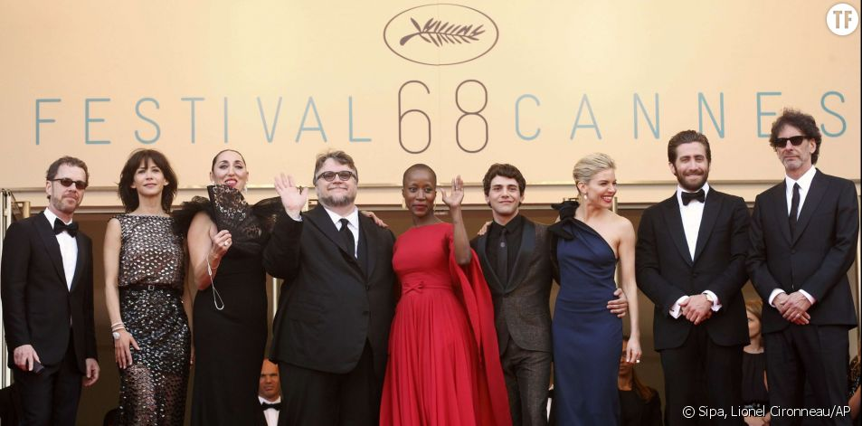 Le jury de Cannes 2015 : Ethan Coen, Sophie Marceau, Rossy de Palma, Guillermo Del Toro, Rokia Traore, Xavier Dolan, Sienna Miller, Jake Gyllenhaal et Joel Coen