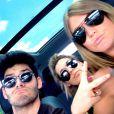 Nina Dobrev et ses quatre amis en road trip