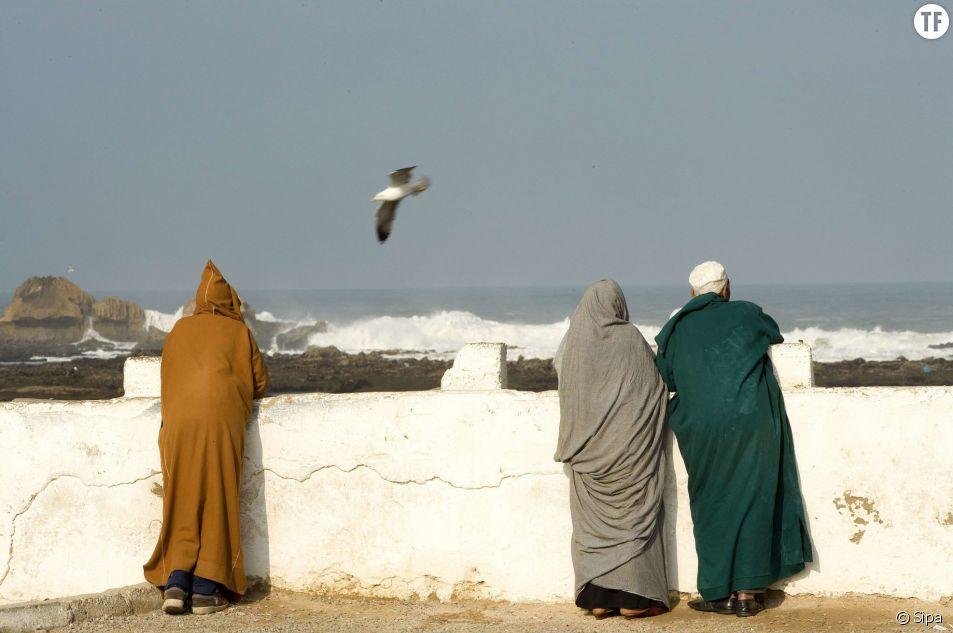 Scène de la vie marocaine à Essaouira, au Maroc