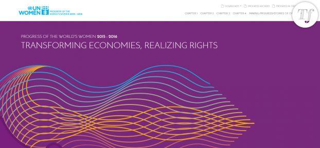 """Le rapport """"Progress of the world's women"""", publié par l'ONU."""