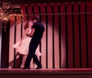La scène finale où Johnny revient pour faire danser bébé.