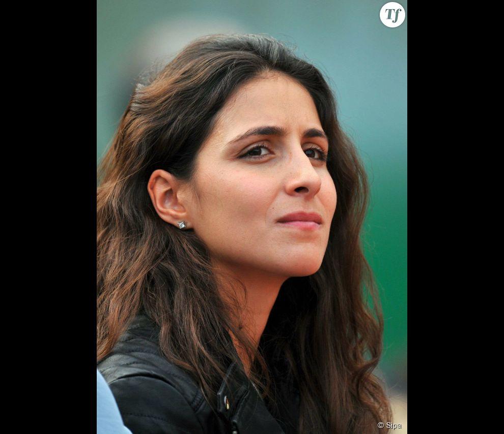 """La jeune femme suit """"Rafa"""" sur bon nombre d'endroits du circuit, comme par exemple ici, à Monte-Carlo."""