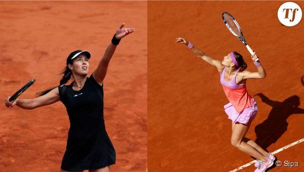 Ana Ivanovic est opposée à Lucie Safarova en demi-finale dame de Roland-Garros.