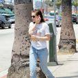 Kristen Stewart dans le quartier de Silverlake à Los Angeles le 6 juin 2015.