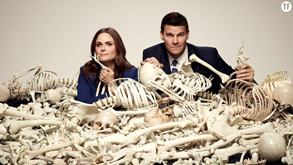 "Temperance ""Bones"" Brennan et Seeley Booth"