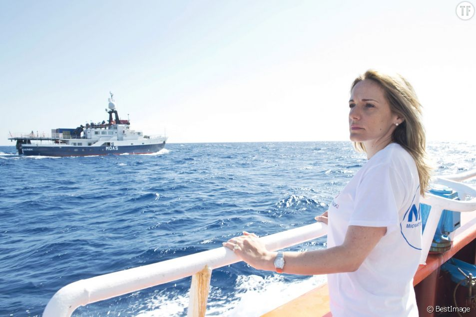 Avec son mari Christopher, Regina Catrambone a fondé l'association MOAS pour venir en aide aux migrants naufragés de méditerranée.