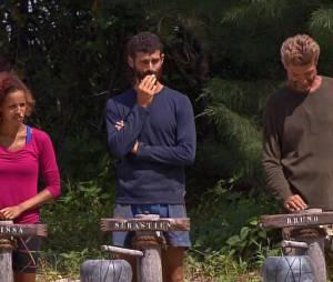 Mélissa et Bruno sont qualifiés pour la finale, Sébastien (au centre) est éliminé