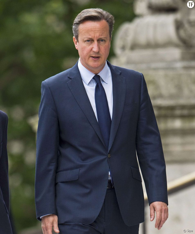 David Cameron, Premier ministre du Royaume Uni.