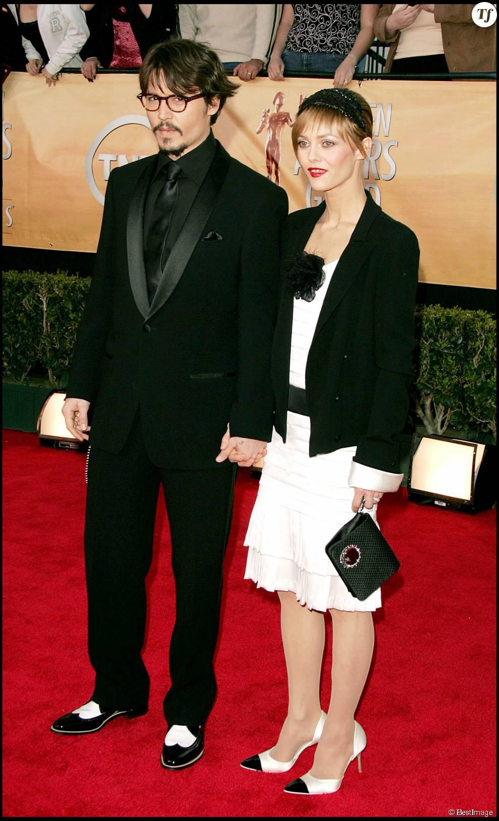 Vanessa Paradis et Johnny Depp au Screen Actors Guild Awards en 2005