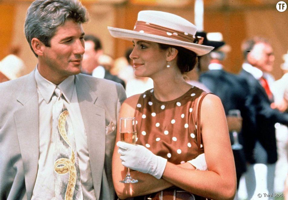 "Richard Gere et Julia Roberts dans ""Pretty Woman"""