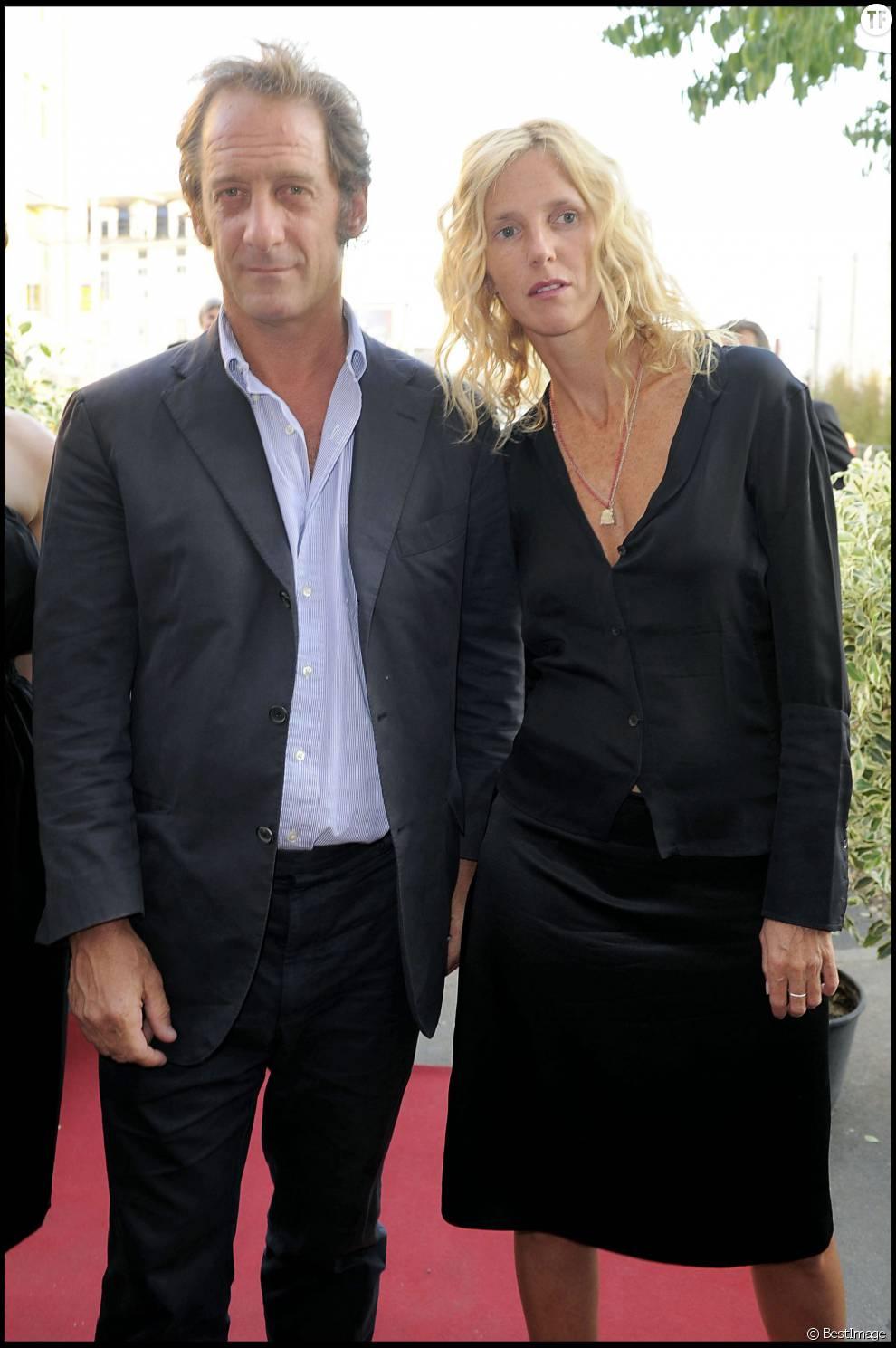 Vincent Lindon et son ex-femme Sandrine Kiberlain en 2009