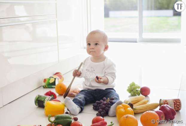 Les fruits et légumes bons pour votre bébé