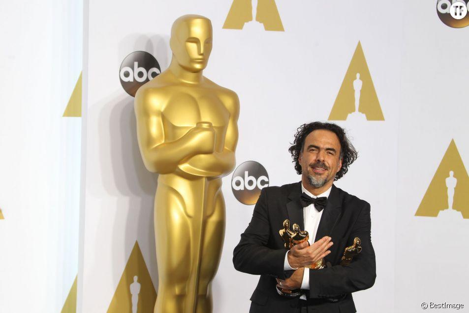 Le réalisateur mexicain Alejandro Gonzalez Inarritu (The Revenant) aux Oscars 2015
