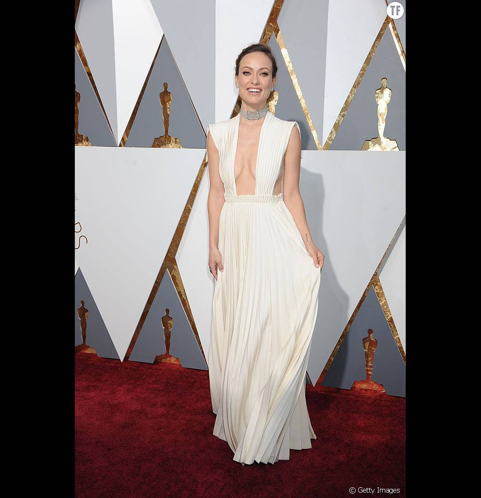 Olivia Wilde et sa robe Valentino