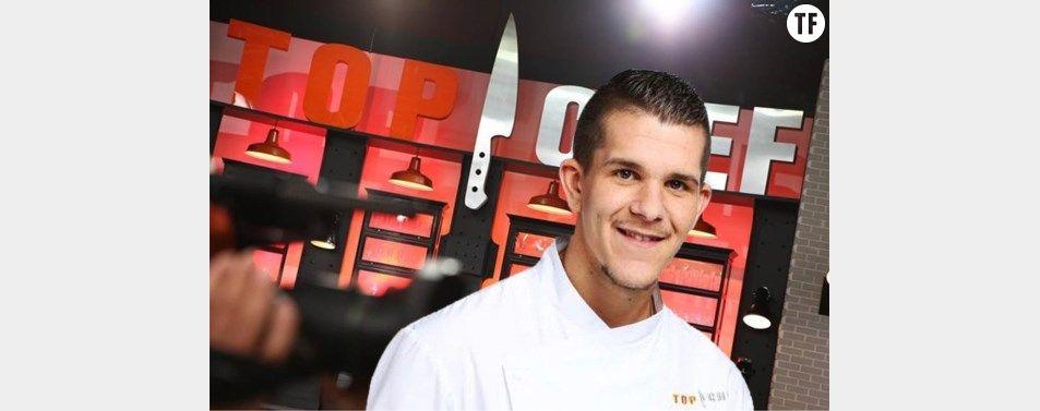 Kevin Roquet, éliminé de Top chef le 29 février 2016