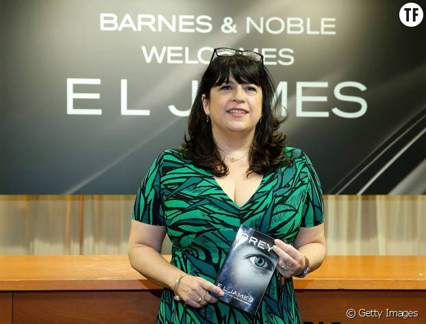"EL James, l'auteure de la trilogie ""Fifty Shades of Grey"""